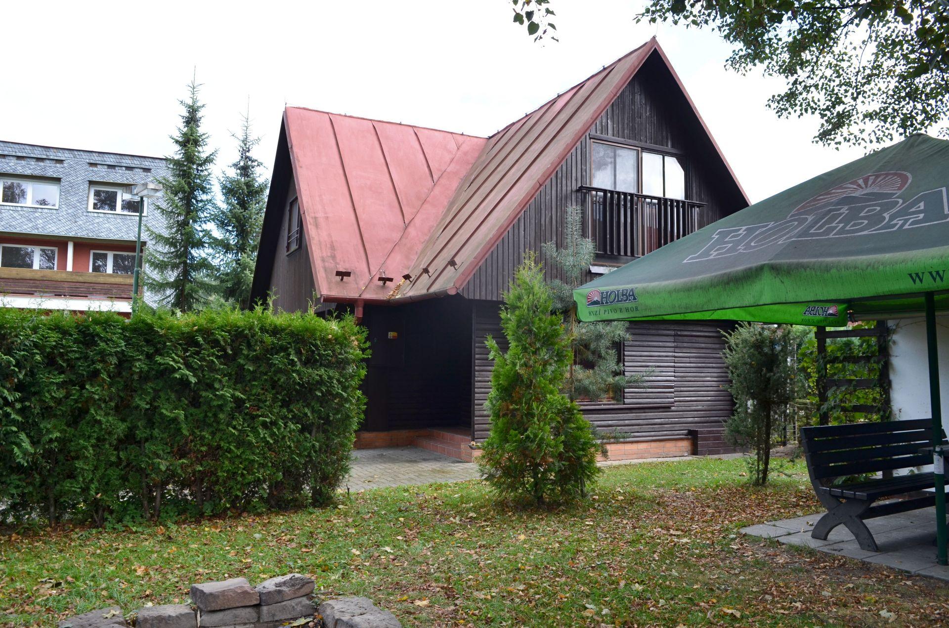 Prodej, Chata 90 m2, podíl na pozemku 3.834 m2, Zlaté Hory